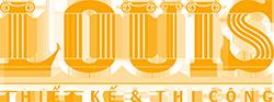 Logo công ty thiết kế xây dựng Louis