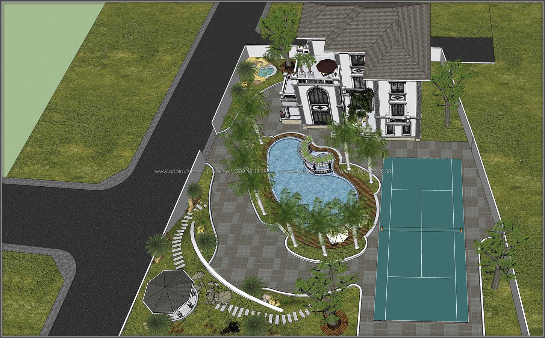 Biệt thự 3 tầng 2 mặt tiền có hồ bơi đẳng cấp tại Củ Chi - 10