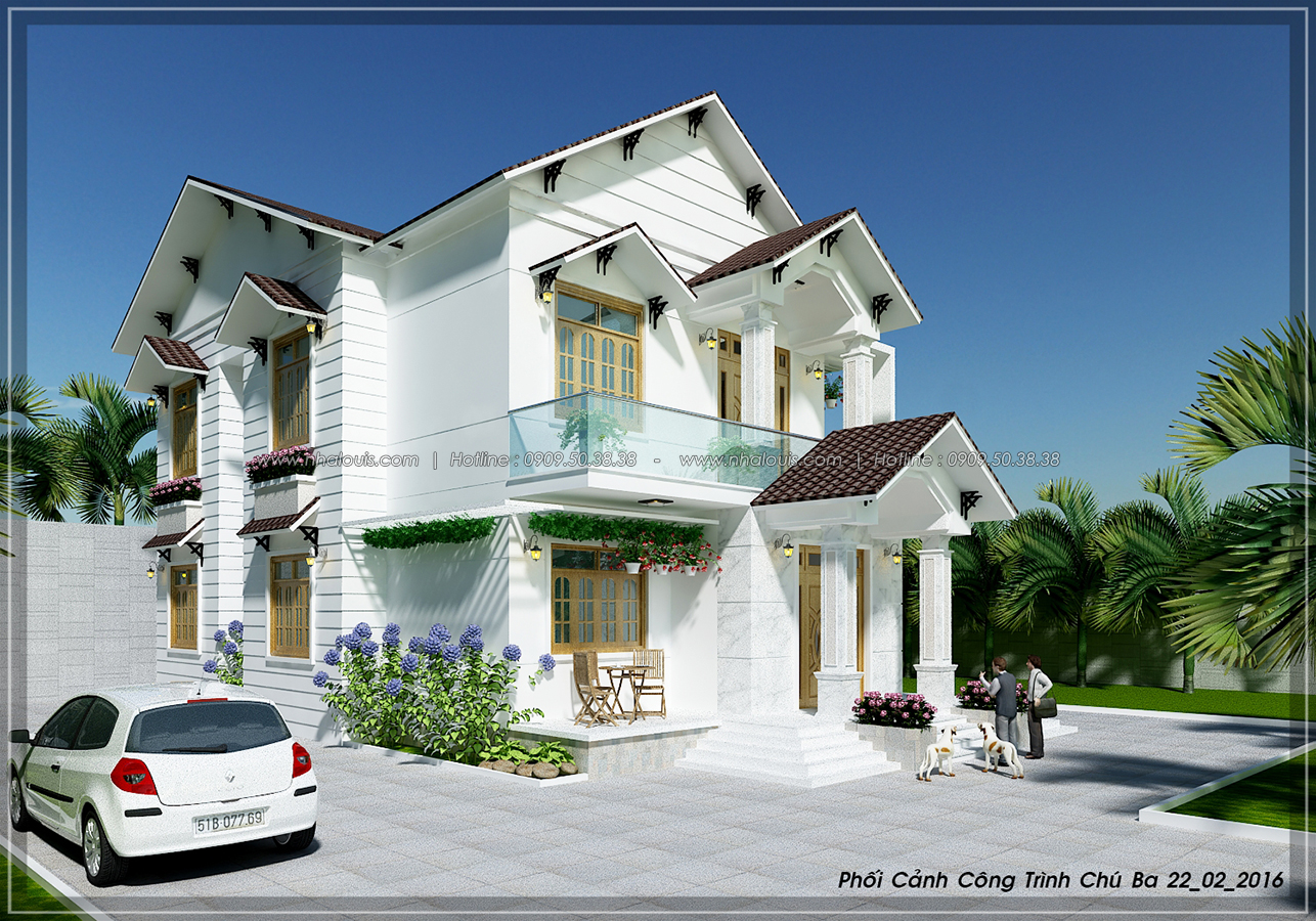 Biệt thự mái ngói phong cách á đông ở Khánh Hòa - 5
