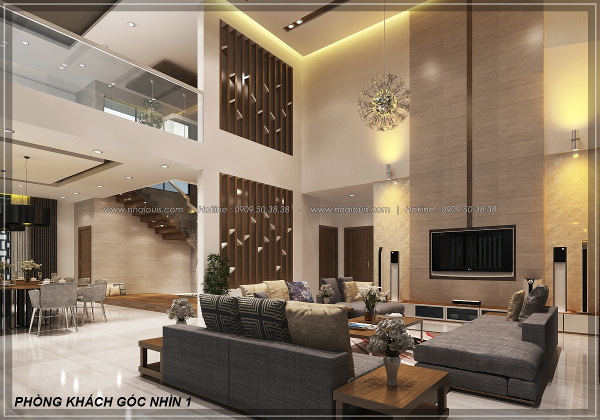 Biệt thự vườn 2 tầng 3 phòng ngủ tại Kiên Giang đẹp hiện đại, tinh tế - 11