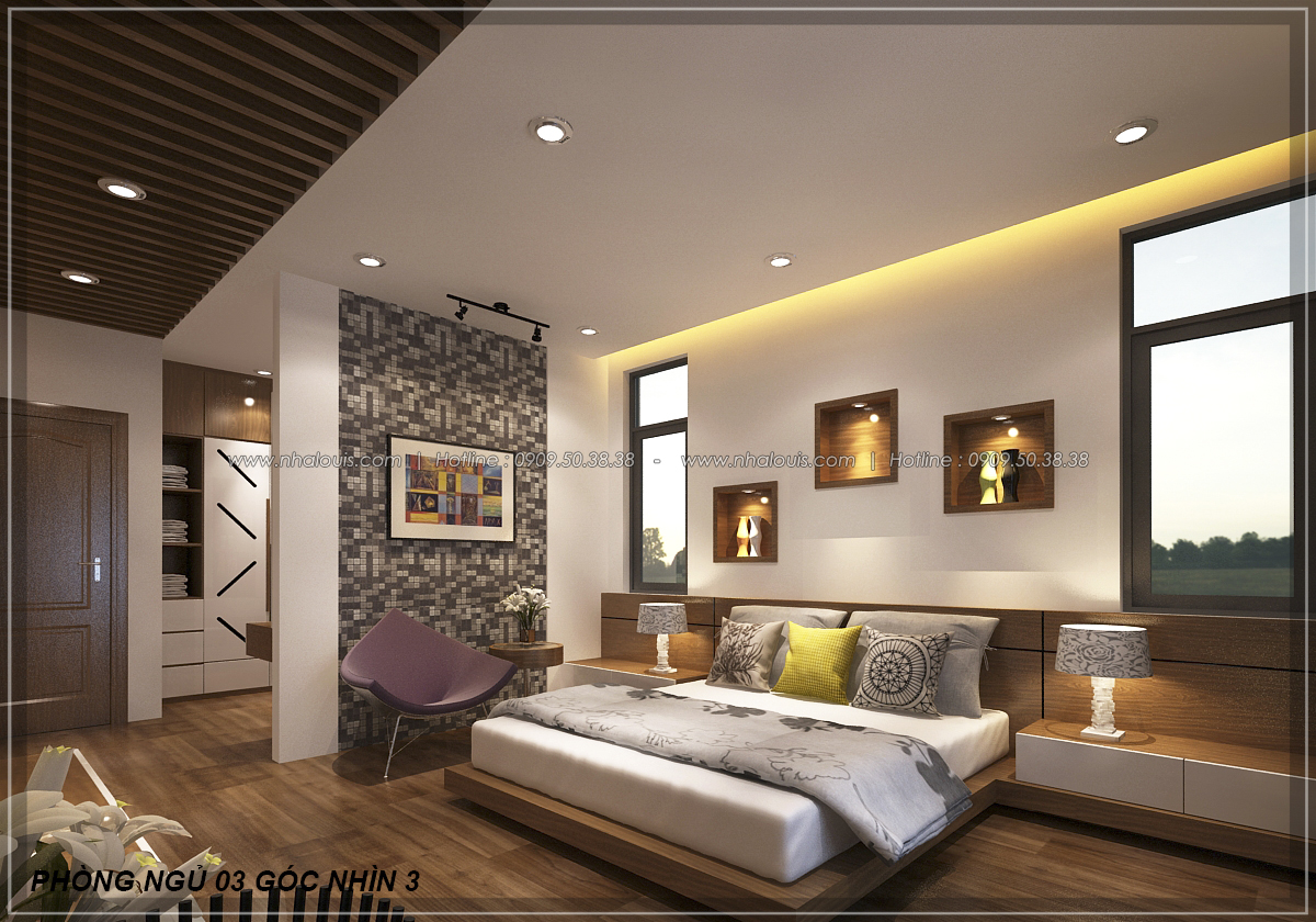 Biệt thự vườn 2 tầng 3 phòng ngủ tại Kiên Giang đẹp hiện đại, tinh tế - 15