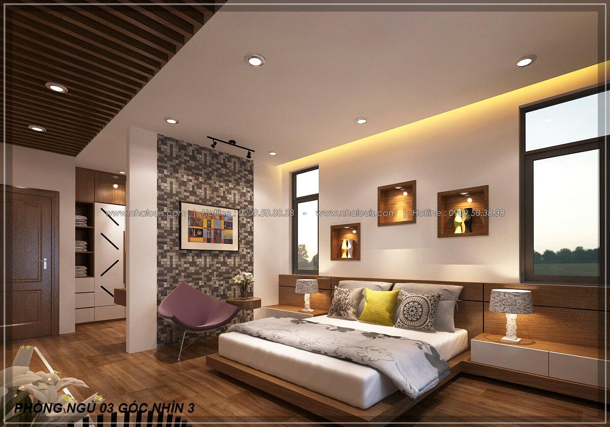 Phòng ngủ Biệt thự nhà vườn 2 tầng 3 phòng ngủ tại Kiên Giang đẹp hiện đại, tinh tế - 15