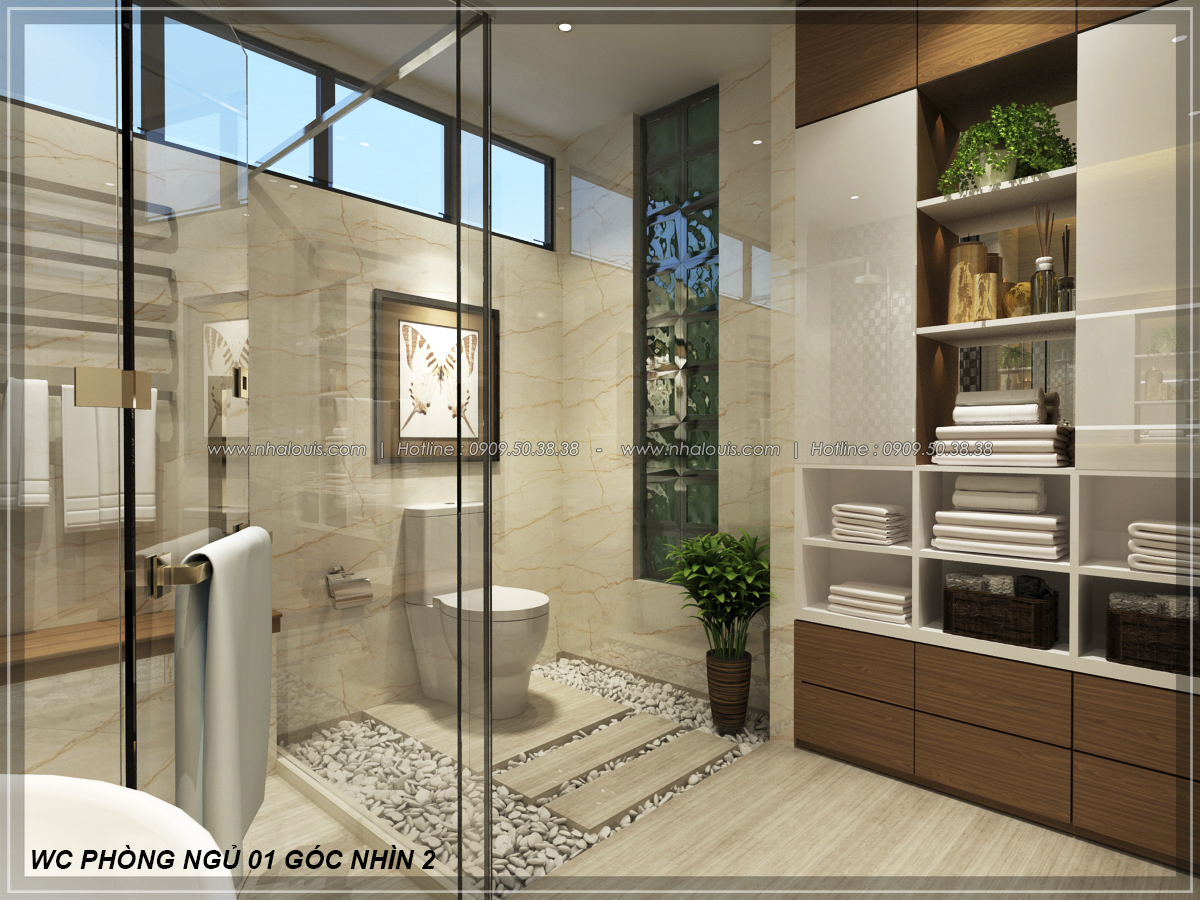 Biệt thự vườn 2 tầng 3 phòng ngủ tại Kiên Giang đẹp hiện đại, tinh tế - 20