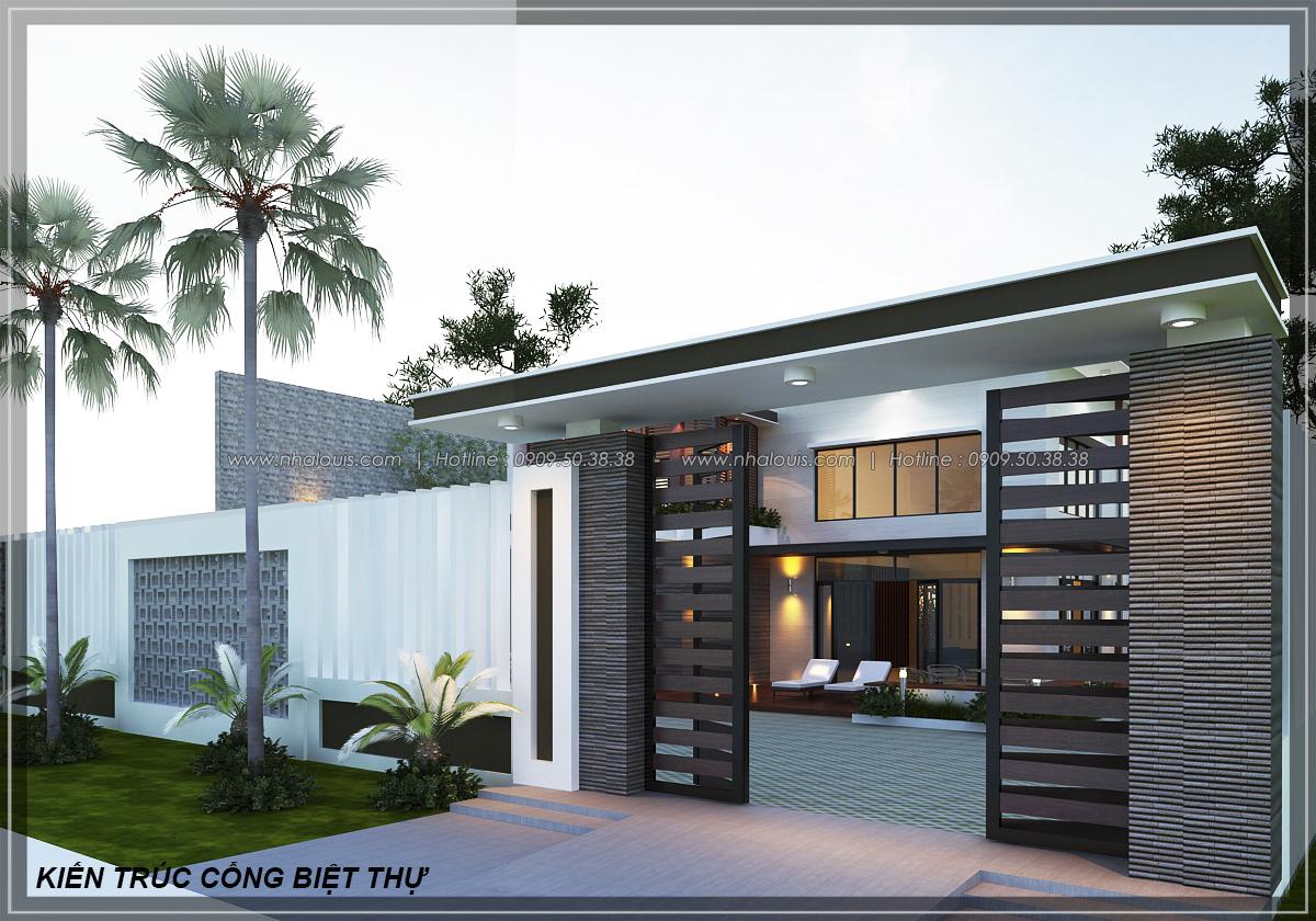 Biệt thự vườn 2 tầng 3 phòng ngủ tại Kiên Giang đẹp hiện đại, tinh tế - 5
