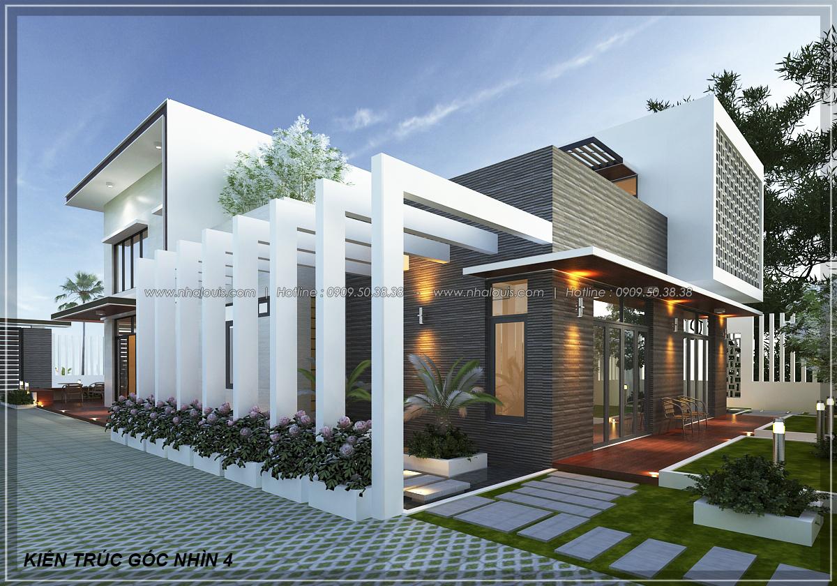 Biệt thự vườn 2 tầng 3 phòng ngủ tại Kiên Giang đẹp hiện đại, tinh tế - 6