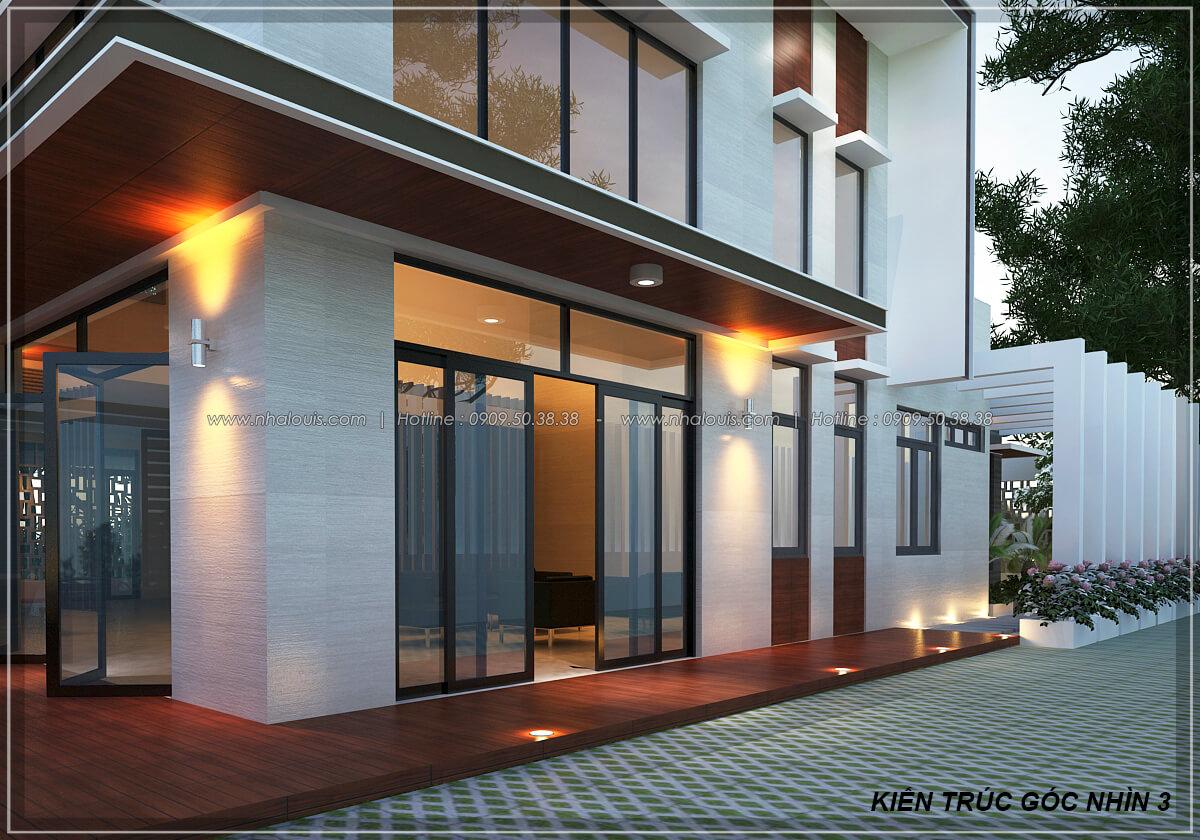 Mặt tiền Biệt thự nhà vườn 2 tầng 3 phòng ngủ tại Kiên Giang đẹp hiện đại, tinh tế - 8