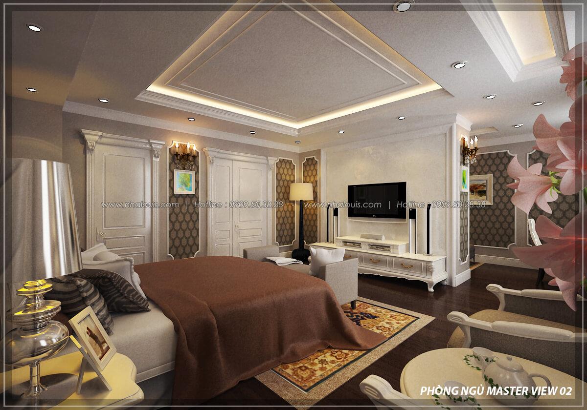 Phòng ngủ master Đẳng cấp thiết kế penthouses với nội thất cực chất anh Kim quận Tân Bình - 13
