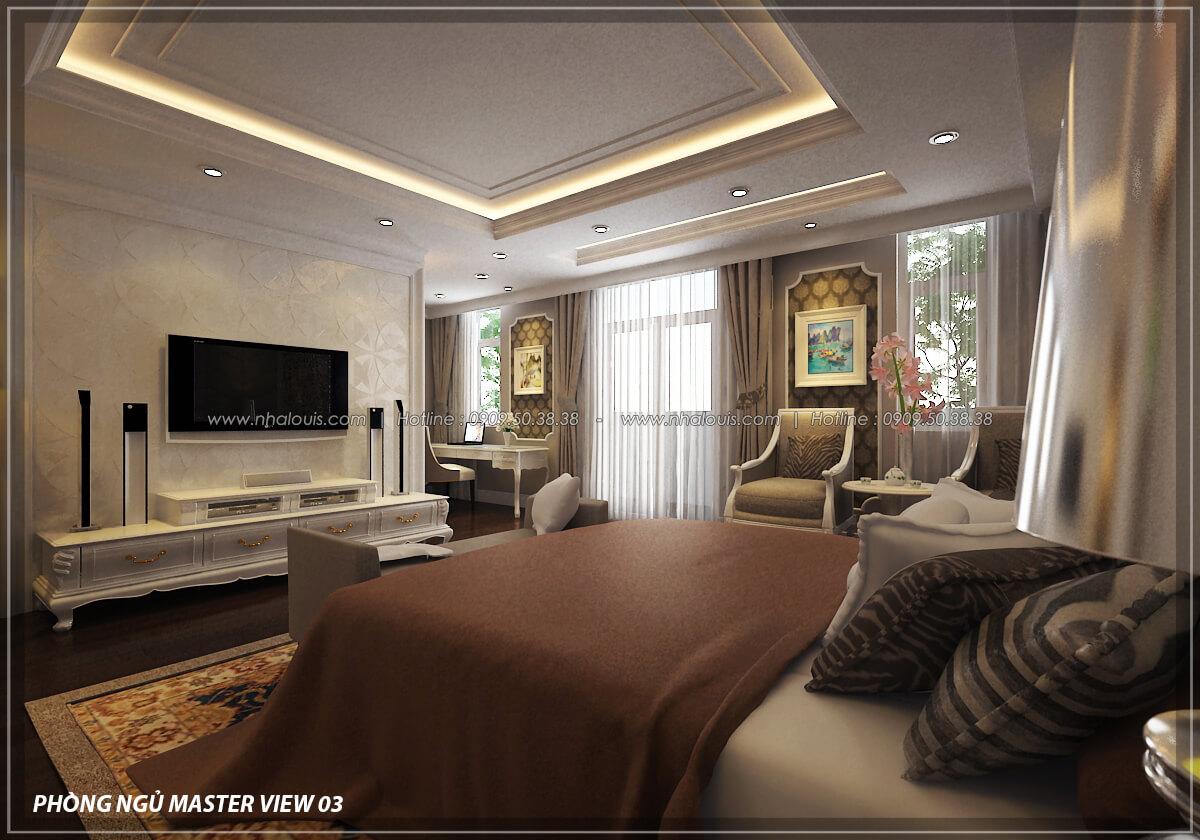 Phòng ngủ master Đẳng cấp thiết kế penthouses với nội thất cực chất anh Kim quận Tân Bình - 14
