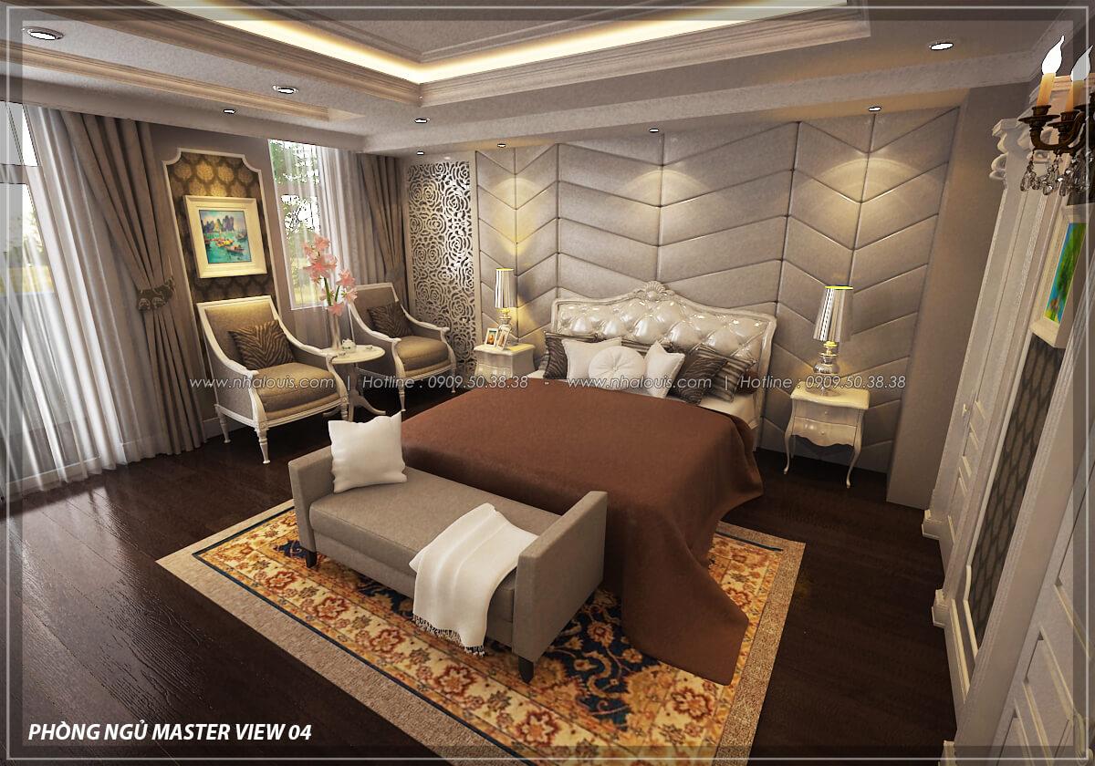 Phòng ngủ master Đẳng cấp thiết kế penthouses với nội thất cực chất anh Kim quận Tân Bình - 15