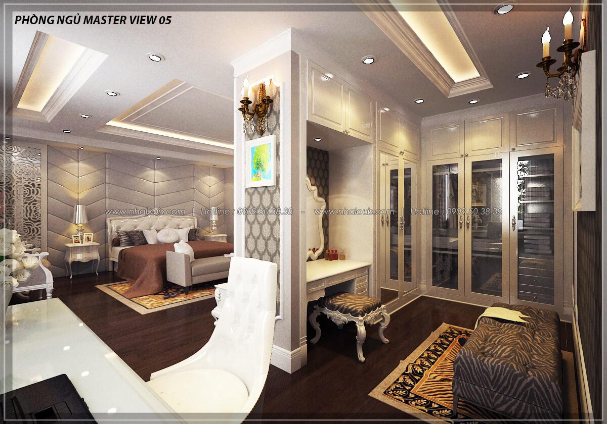 Phòng ngủ master Đẳng cấp thiết kế penthouses với nội thất cực chất anh Kim quận Tân Bình - 16