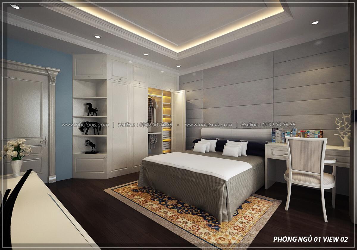 Phòng ngủ Đẳng cấp thiết kế penthouses với nội thất cực chất anh Kim quận Tân Bình - 20