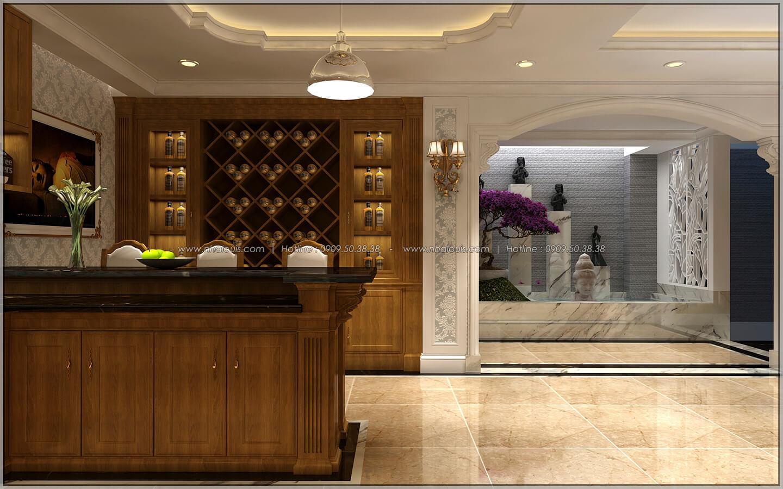 Phòng bếp và quầy bar thiết kế penthouses với nội thất cực chất anh Kim quận Tân Bình - 29