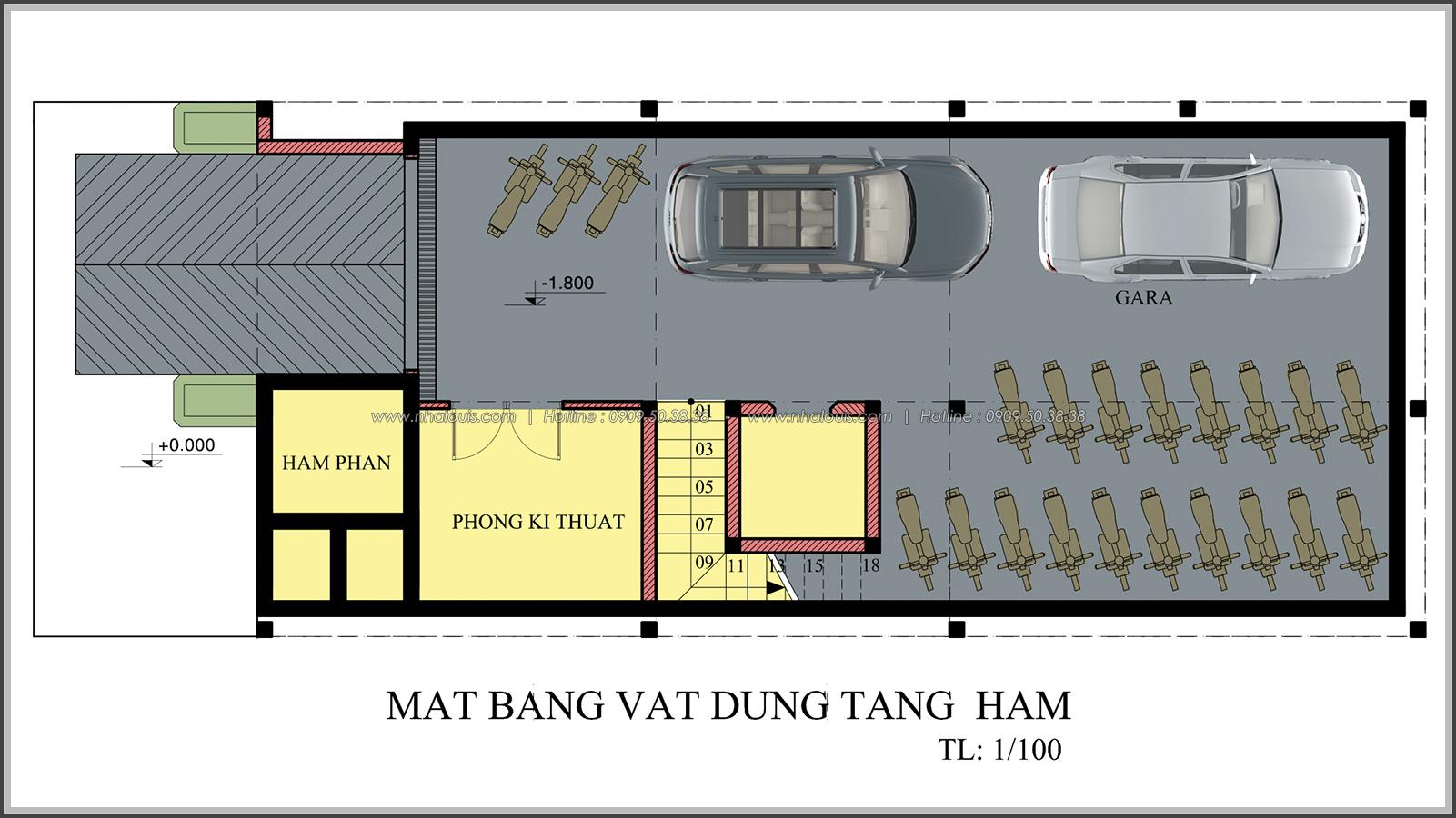 Đẳng cấp thiết kế penthouse với nội thất cực chất anh Kim quận Tân Bình - 3