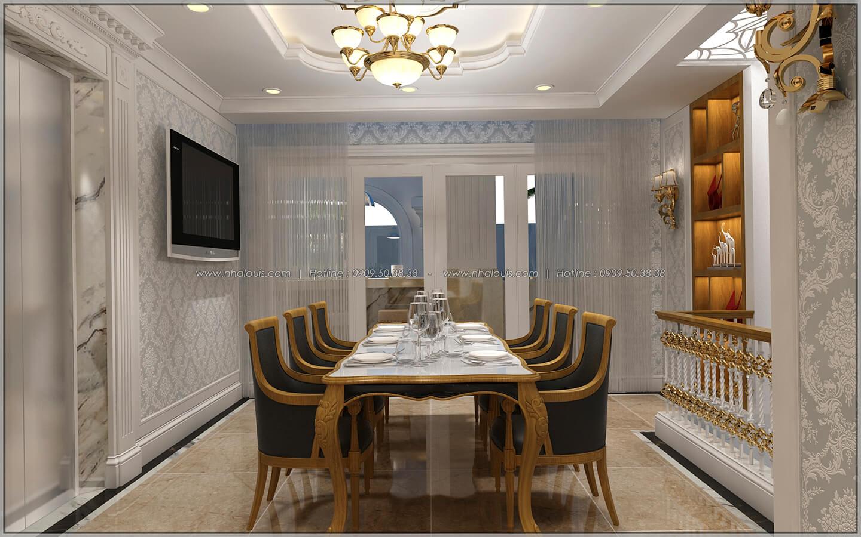 Phòng ăn thiết kế penthouses với nội thất cực chất anh Kim quận Tân Bình - 32