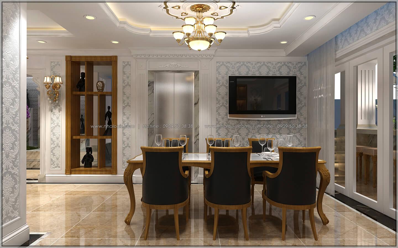 Phòng ăn thiết kế penthouses với nội thất cực chất anh Kim quận Tân Bình - 33