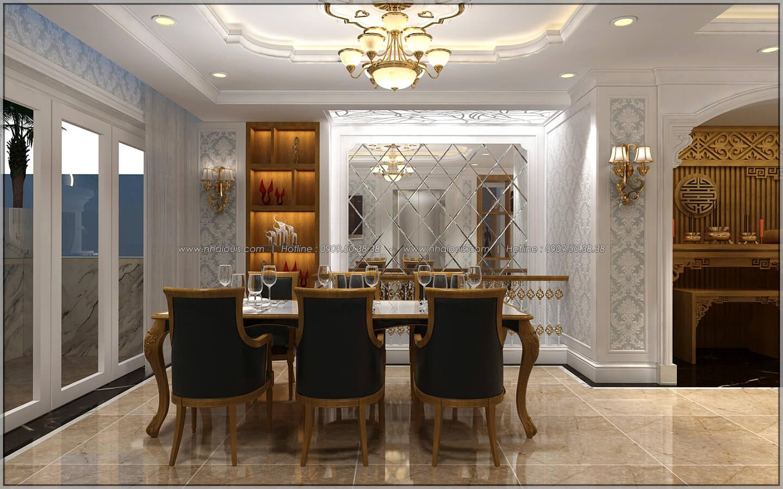 Phòng ăn thiết kế penthouses với nội thất cực chất anh Kim quận Tân Bình - 34