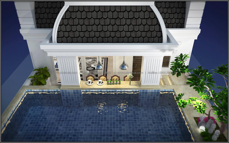 Hồ bơi thiết kế penthouses với nội thất cực chất anh Kim quận Tân Bình - 35