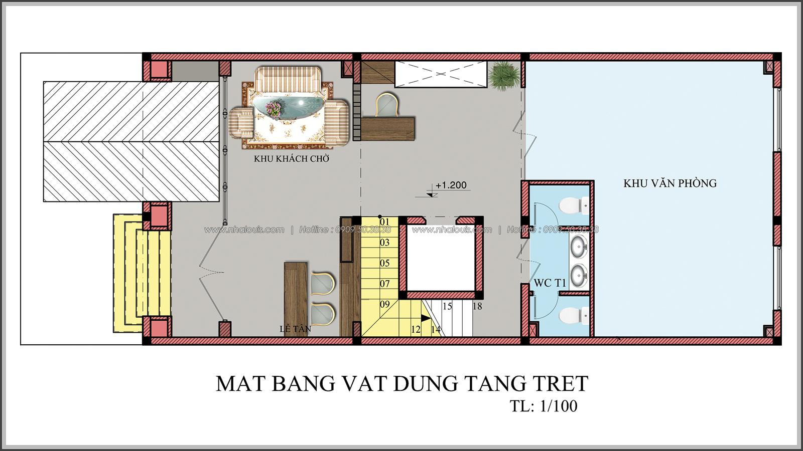 Đẳng cấp thiết kế penthouse với nội thất cực chất anh Kim quận Tân Bình - 4