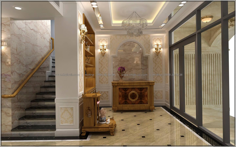 Sảnh tiếp khách thiết kế penthouses với nội thất cực chất anh Kim quận Tân Bình - 7