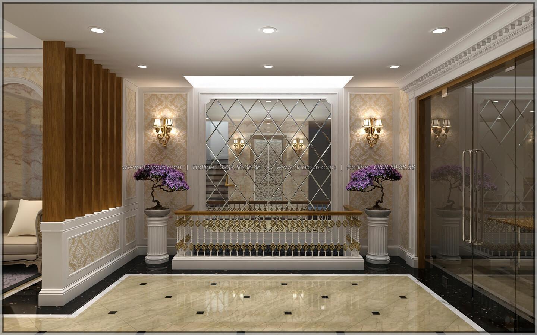 Sảnh văn phòng thiết kế penthouses với nội thất cực chất anh Kim quận Tân Bình - 9