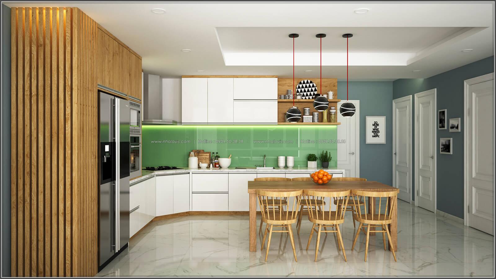 Phòng ăn của thiết kế phòng trọ 15m2 tại Quận Bình Thạnh - 10