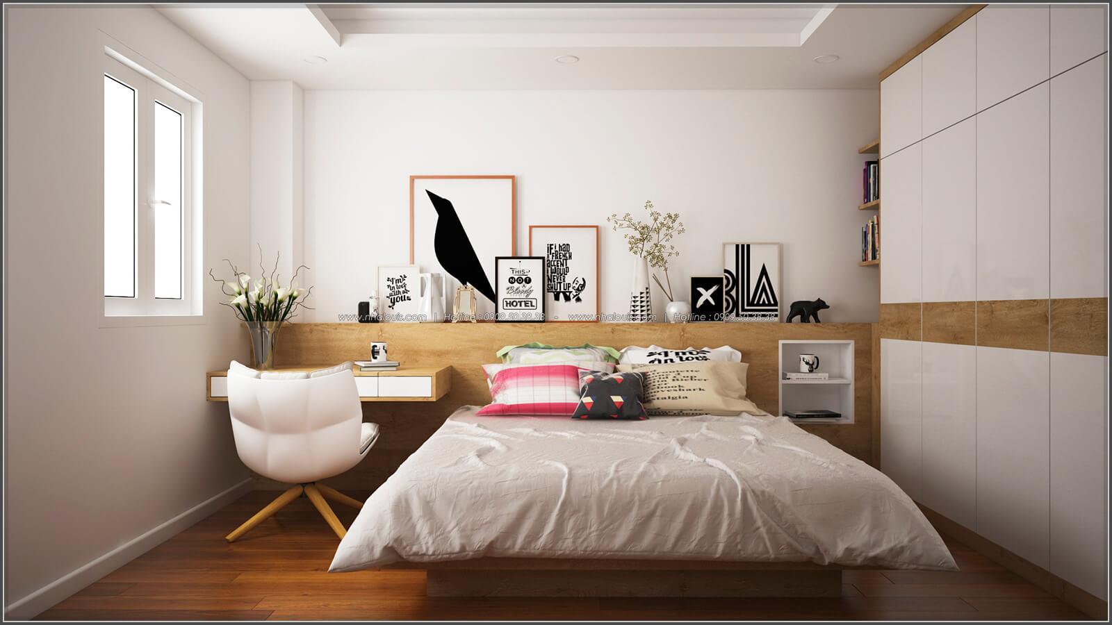 Phòng ngủ thiết kế phòng trọ 15m2 tại Quận Bình Thạnh - 11