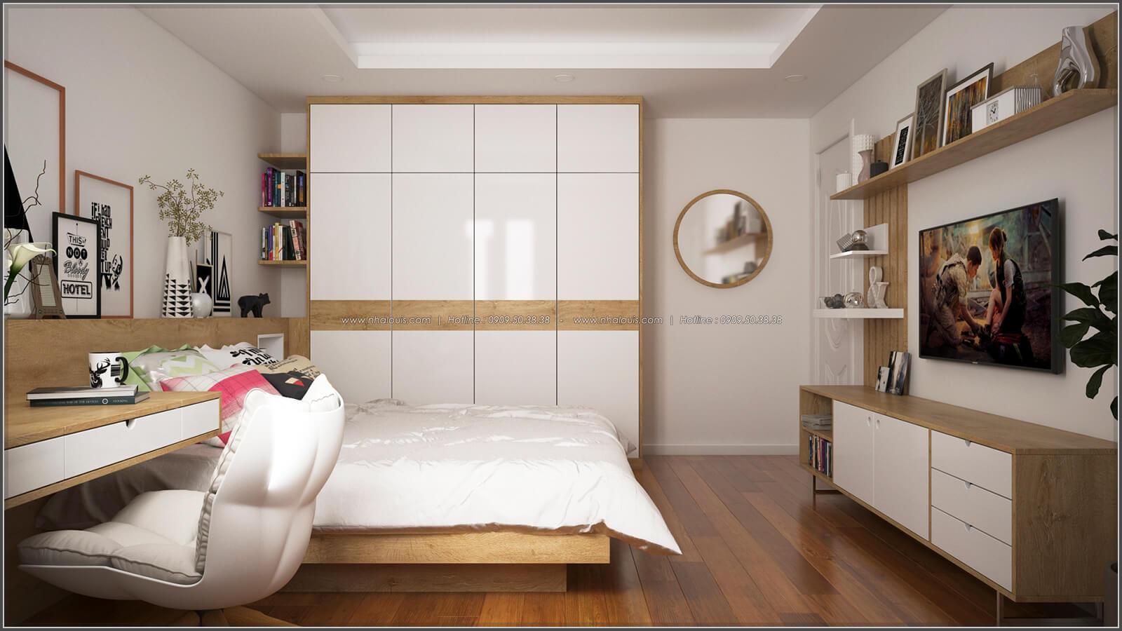 Phòng ngủ thiết kế phòng trọ 15m2 tại Quận Bình Thạnh - 13