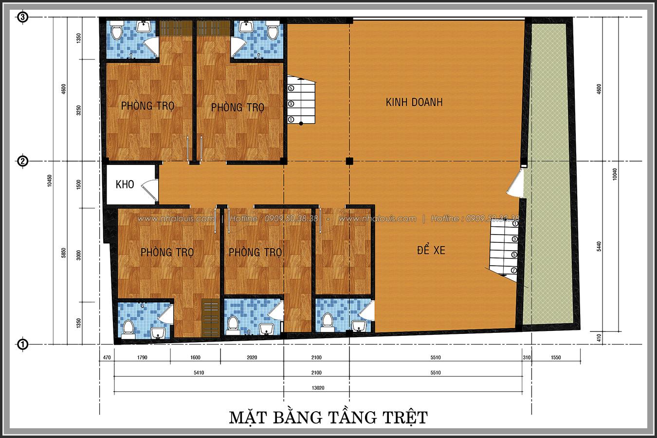 Đầu tư sinh lợi với thiết kế phòng trọ 15m2 tại Quận Bình Thạnh - 3