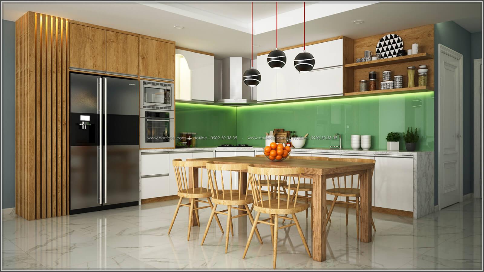Phòng ăn thiết kế phòng trọ 15m2 tại Quận Bình Thạnh - 9