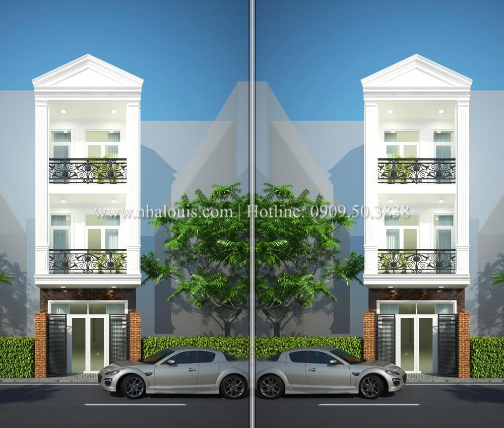 Đẹp hiện đại với thiết kế nhà ồng 3 tầng 5x20 tại Tân Bình