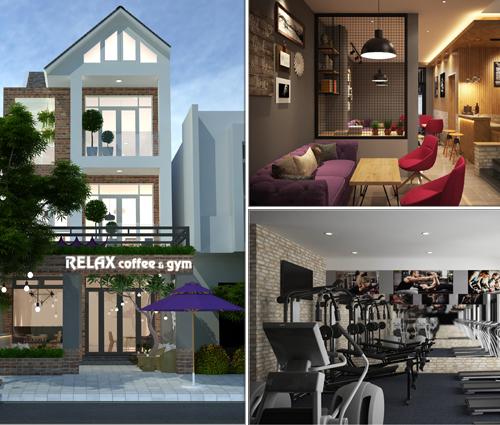 Độc lạ với ý tưởng kinh doanh coffee & gym từ nhà phố 3 tầng tại Bình Chánh