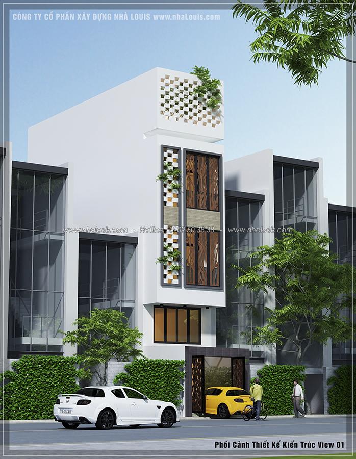 Mẫu thiết kế nhà phố hiện đại 4x13m tại Quận 7 [Video]