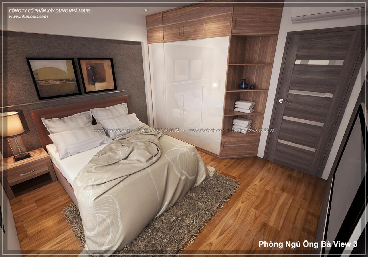 Phòng ngủ ông bà với không gian xanh trong nhà tại Quận 7 - 28