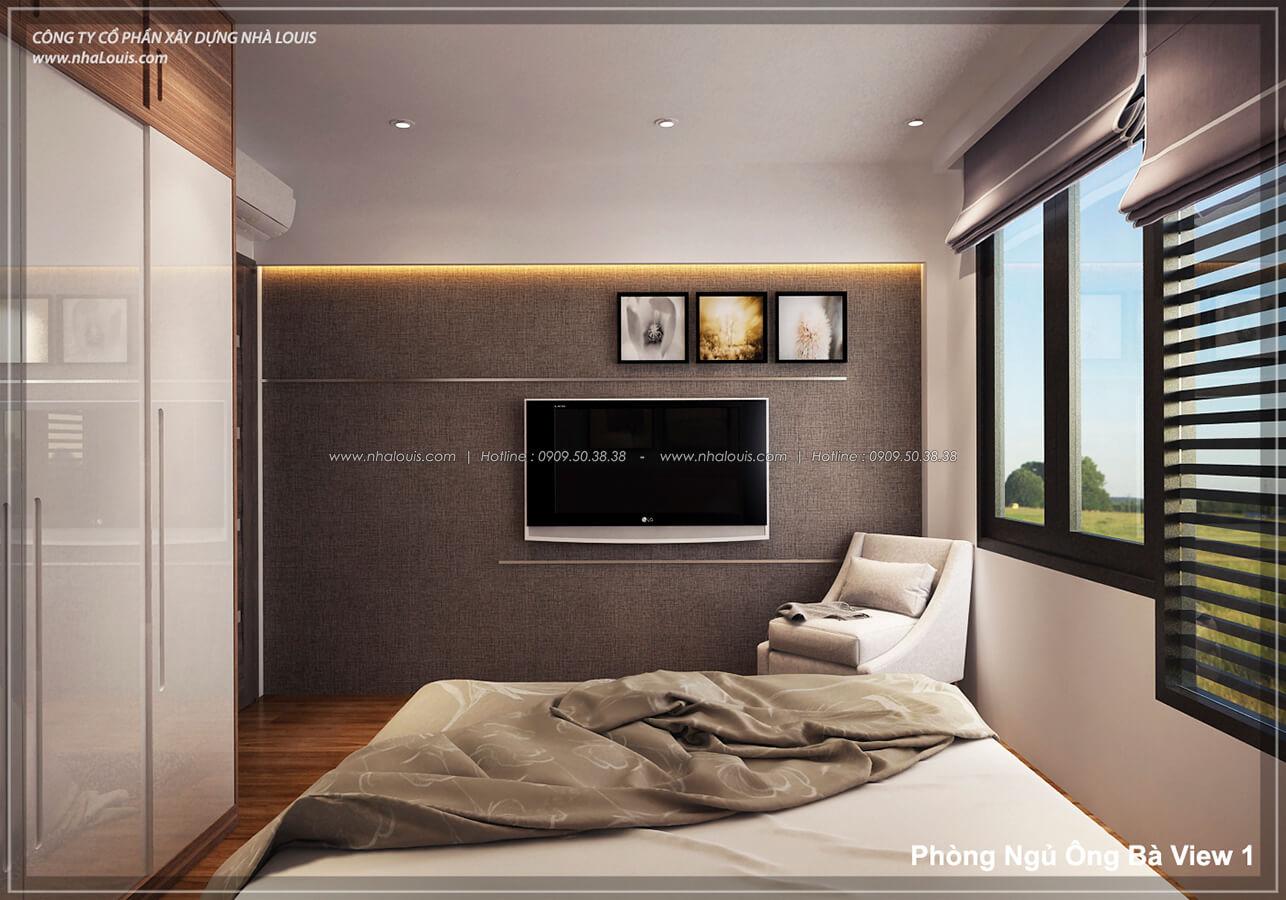 Phòng ngủ ông bà không gian xanh trong nhà tại Quận 7 - 30