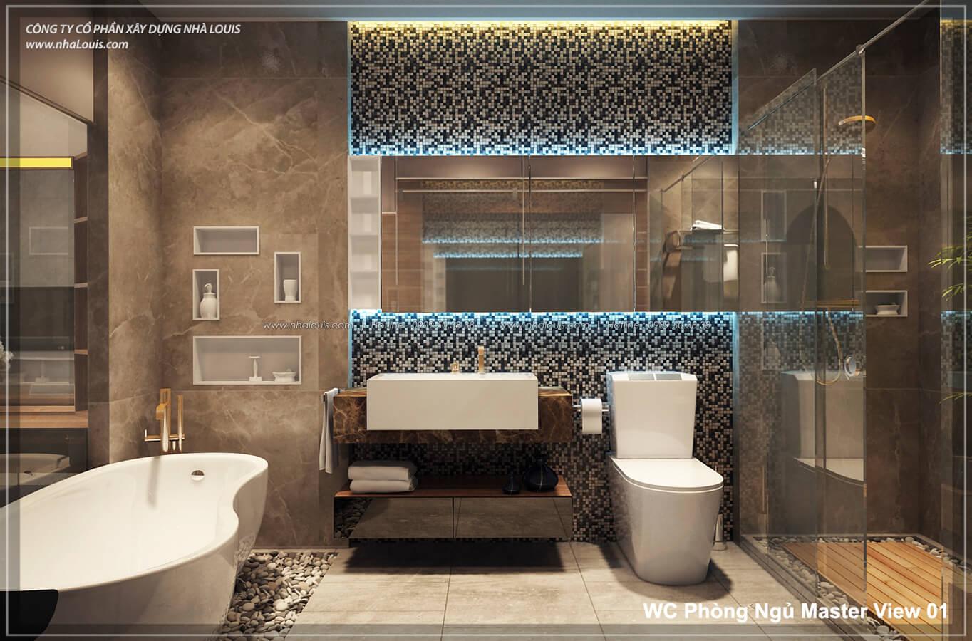 Phòng tắm không gian xanh trong nhà tại Quận 7 - 40