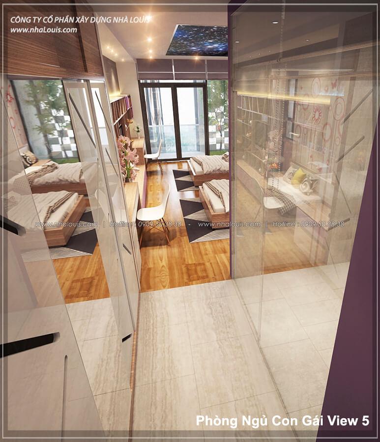 Phòng ngủ không gian xanh trong nhà tại Quận 7 - 48