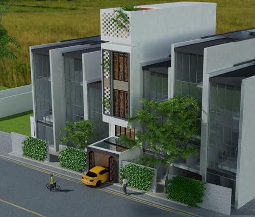 Hòa nhịp cùng thiên nhiên với thiết kế nhà phố hiện đại 4x13m tại Quận 7