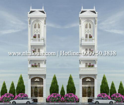 Mặt tiền nhà ống 4m đẹp khó cưỡng ở quận Tân Bình
