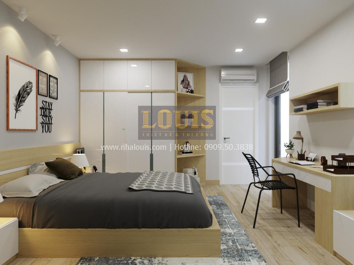 Phòng ngủ thiết kế nhà 2 mặt tiền