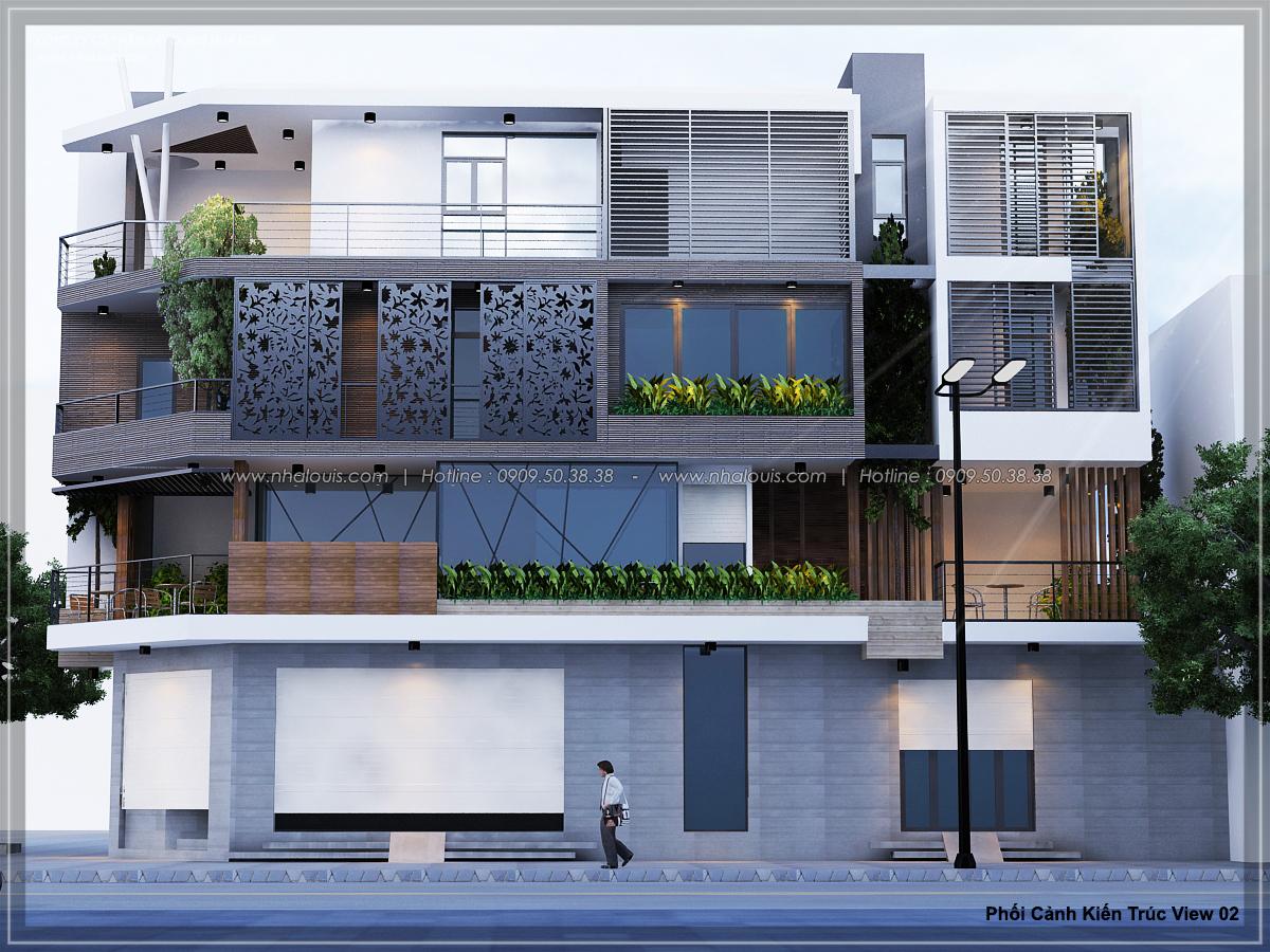 Mãn nhãn cùng thiết kế nhà phố 2 mặt tiền độc đáo KDC Nam Long quận 7 - 02