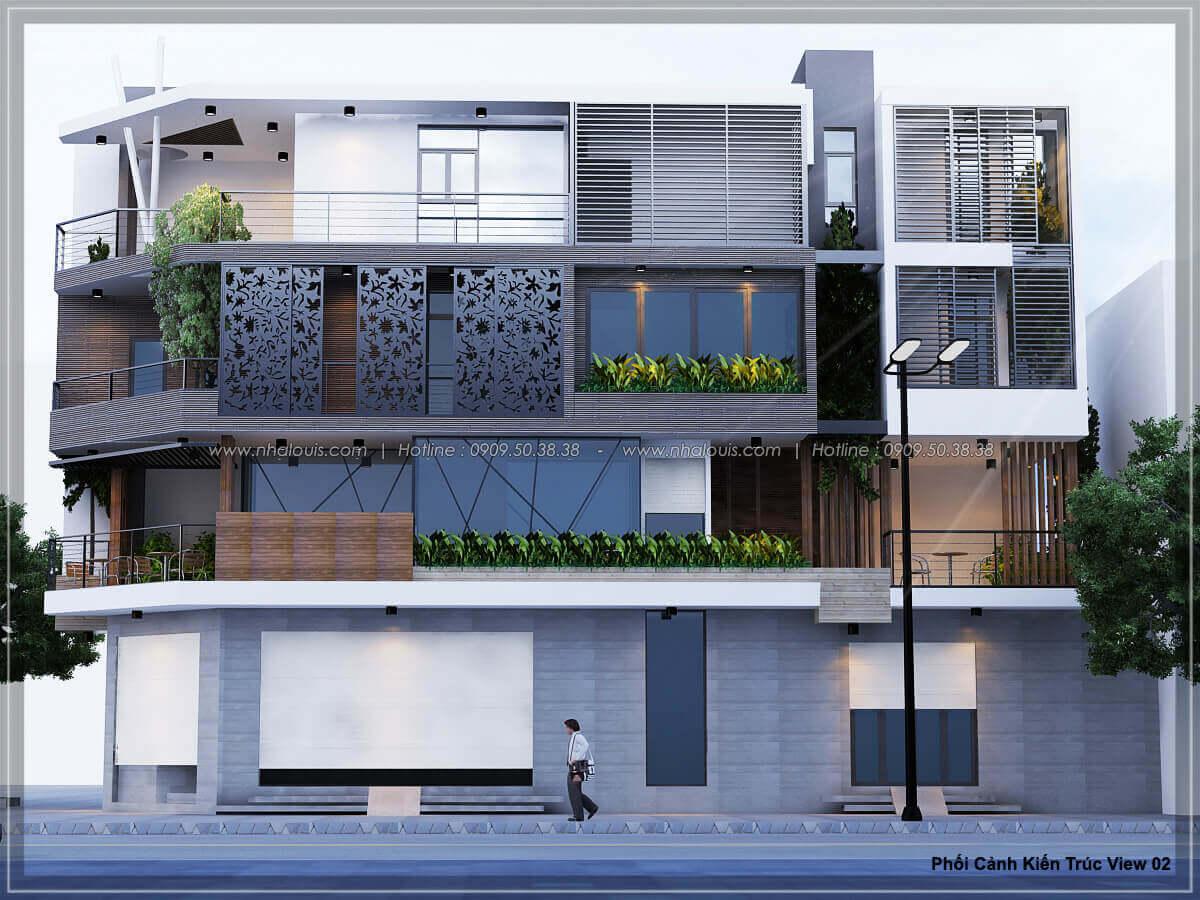 9 Thiết kế nhà mặt phố kinh doanh đẳng cấp