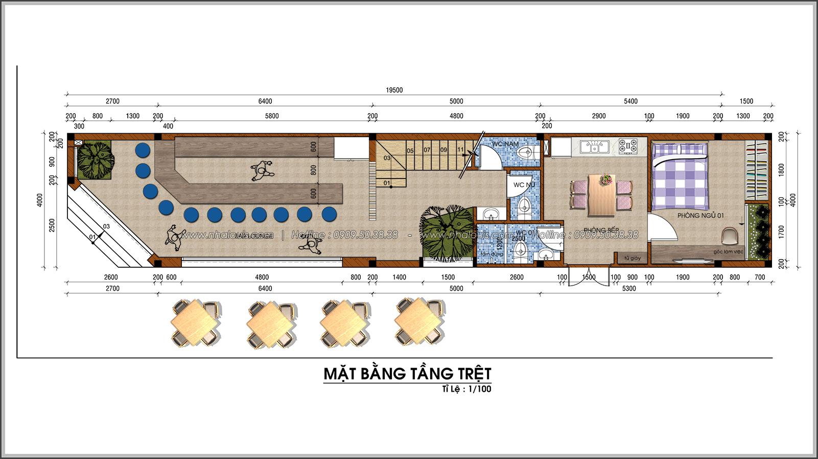 Mãn nhãn cùng thiết kế nhà phố 2 mặt tiền độc đáo KDC Nam Long quận 7 - 04
