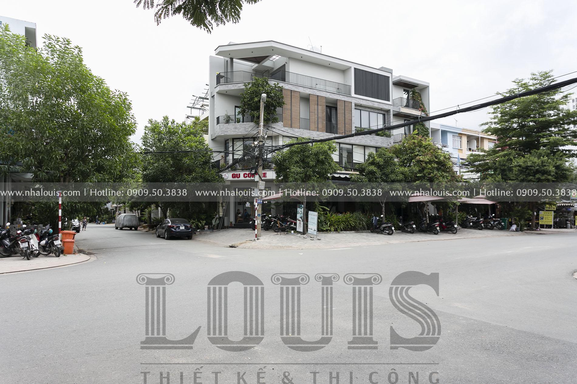 Ngắm nhà 2 mặt tiền kết hợp kinh doanh ở KDC Nam Long Quận 7