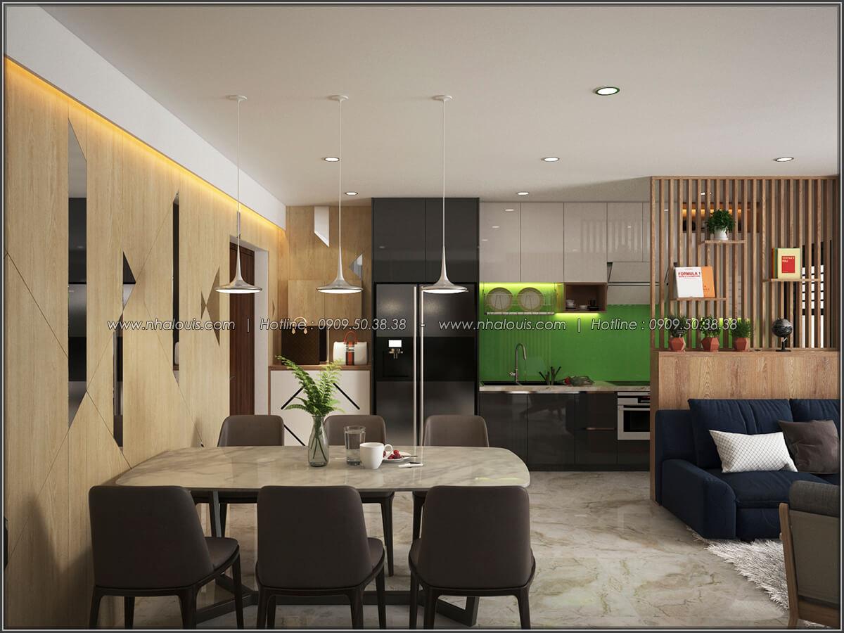 Phòng khách Mê đắm thiết kế nội thất chung cư 2 phòng ngủ sang trọng tại Green Valley Quận 7 - 03