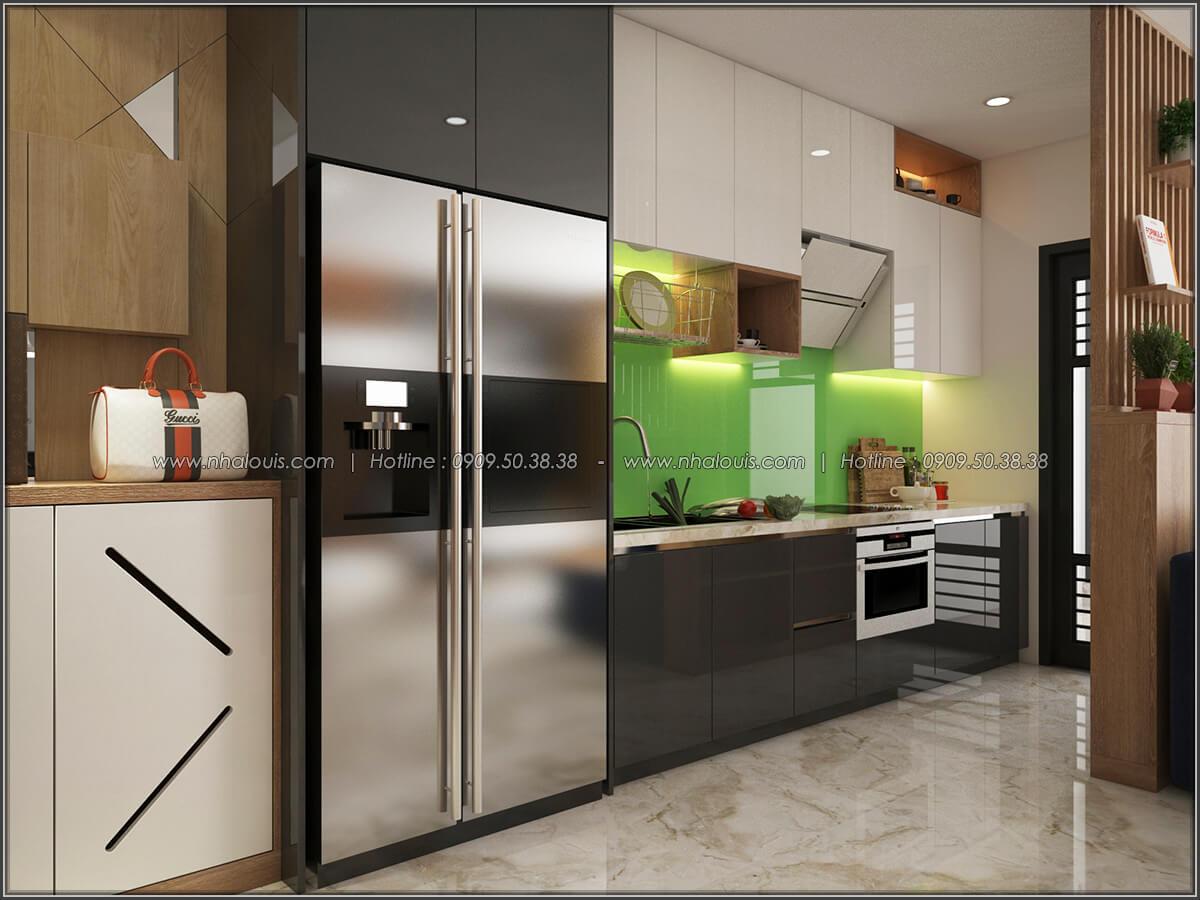 Phòng bếp Mê đắm thiết kế nội thất chung cư 2 phòng ngủ sang trọng tại Green Valley Quận 7 - 05