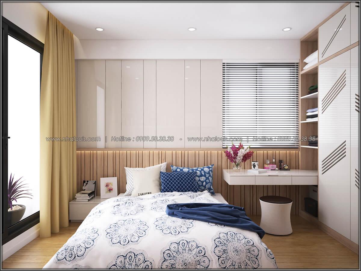 Phòng ngủ Mê đắm thiết kế nội thất chung cư 2 phòng ngủ sang trọng tại Green Valley Quận 7 - 06