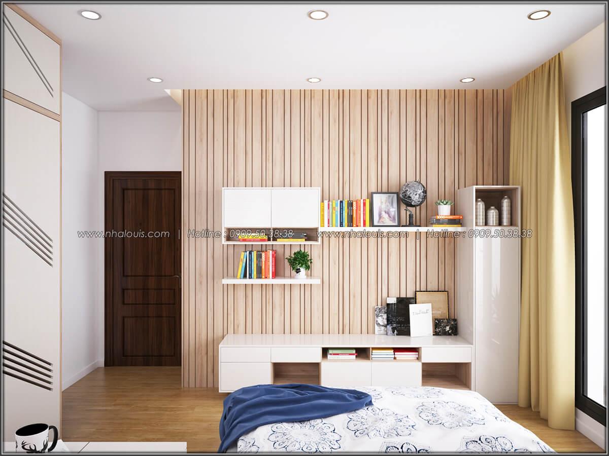 Phòng ngủ Mê đắm thiết kế nội thất chung cư 2 phòng ngủ sang trọng tại Green Valley Quận 7 - 07