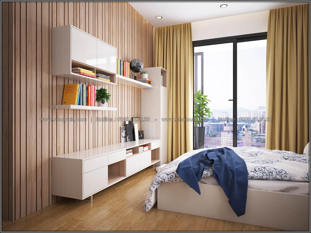 Phòng ngủ Mê đắm thiết kế nội thất chung cư 2 phòng ngủ sang trọng tại Green Valley Quận 7 - 08
