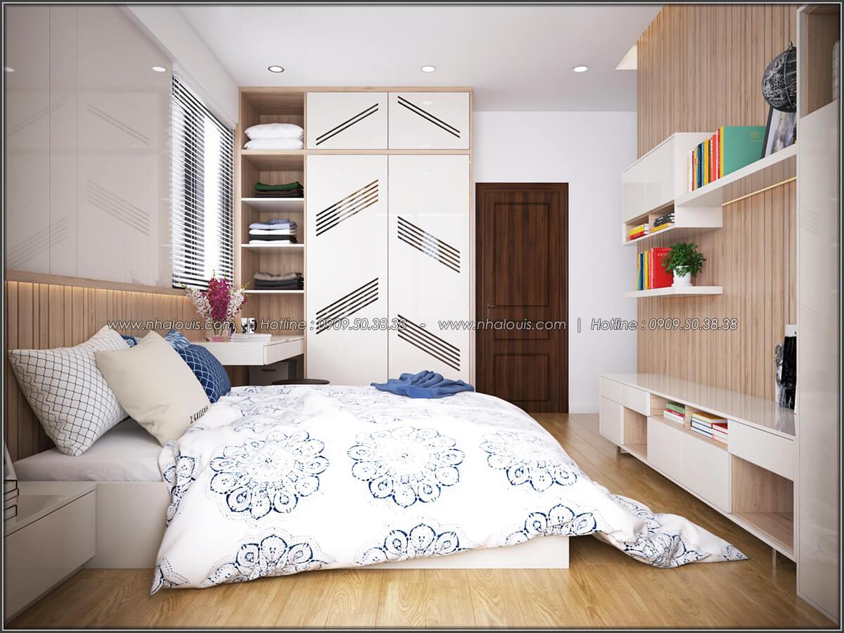 Phòng ngủ Mê đắm thiết kế nội thất chung cư 2 phòng ngủ sang trọng tại Green Valley Quận 7 - 09