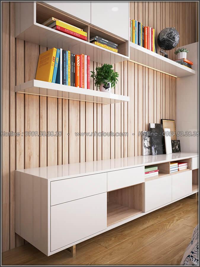 Phòng ngủ Mê đắm thiết kế nội thất chung cư 2 phòng ngủ sang trọng tại Green Valley Quận 7 - 10